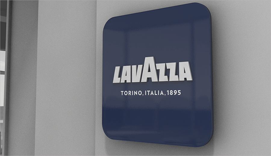 Placa Pared Blue