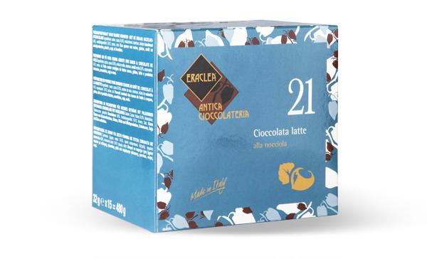 CHOCOLATE A LA TAZA CON LECHE Y AVELLANAS