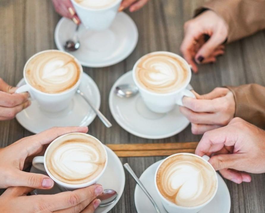 El auténtico café con leche italiano