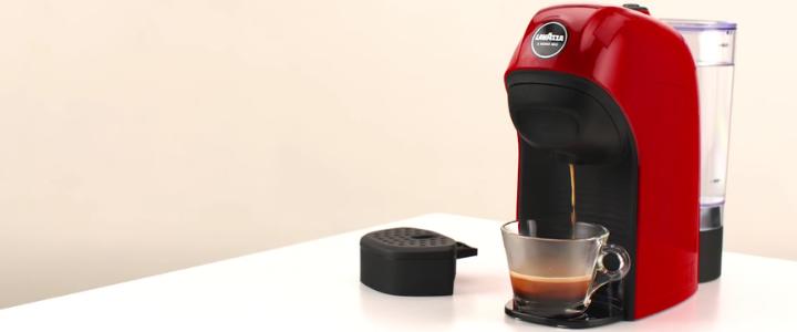 cómo usar una cafetera Lavazza