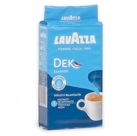 Café molido descafeinado Lavazza